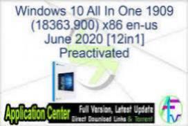Windows 10 Pro 2004 DUAL-BOOT 6in1 OEM pt-BR JUNE 2020 {Gen2}