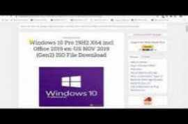 Windows 10 Pro 19H2 X64 incl Office 2019 pt-BR NOV 2019 {Gen2}