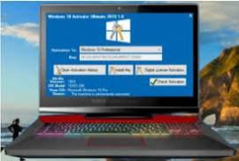 Windows 10 Permanent Activator Ultimate 2019 2.7